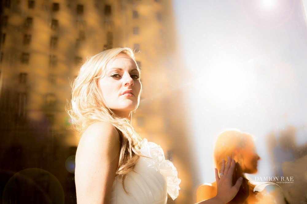 Ashley & Duke: Bridal Fashion Shoot at Queen Margherita Pizza Toronto Ontario Canada Wedding Photographer