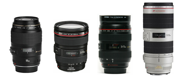 Favourite Wedding Canon Lenses