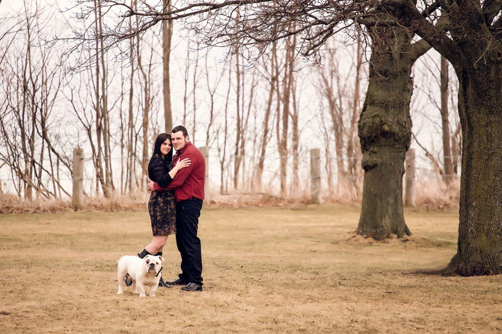 Spring Engagement Shoot at Scarborough Bluffs Toronto