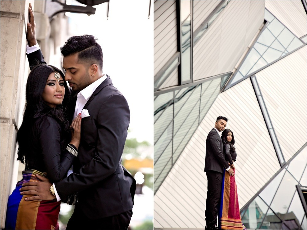 Bloor Yorkville engagement Royal Ontario Museum Toronto engagement photographer