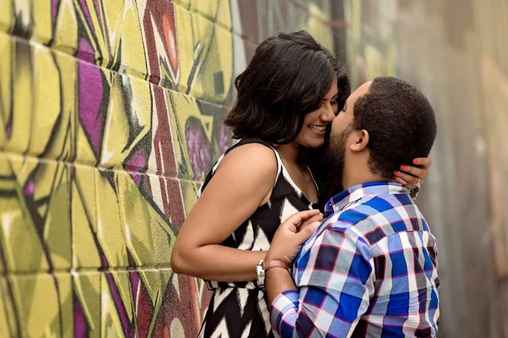 Niki and Joey: Kensington Market Toronto, Ontario, Canada Engagement Photographer