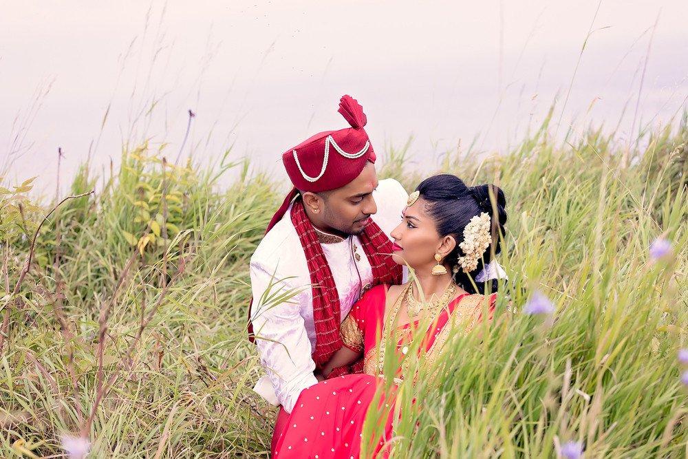 wedding photos tamil wedding Scarborough Bluffs toronto wedding photographer