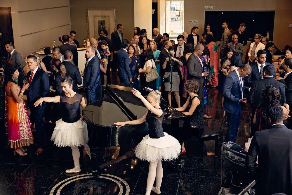 wedding entertainment ballerinas Brighton Convention & Event Centre toronto wedding photographer