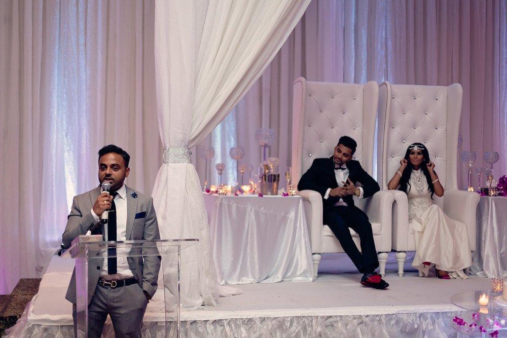tamil wedding reception Brighton Convention & Event Centre toronto wedding photographer