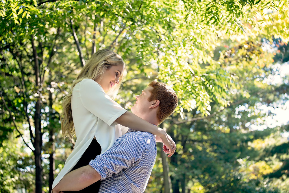 Janine and Richard: Kariya Park, Mississauga Engagement Photographer