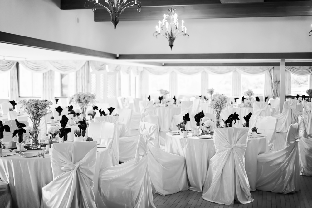 large baquet hall toronto wedding decor Caledon Golf and Country Club toronto Wedding Photographer