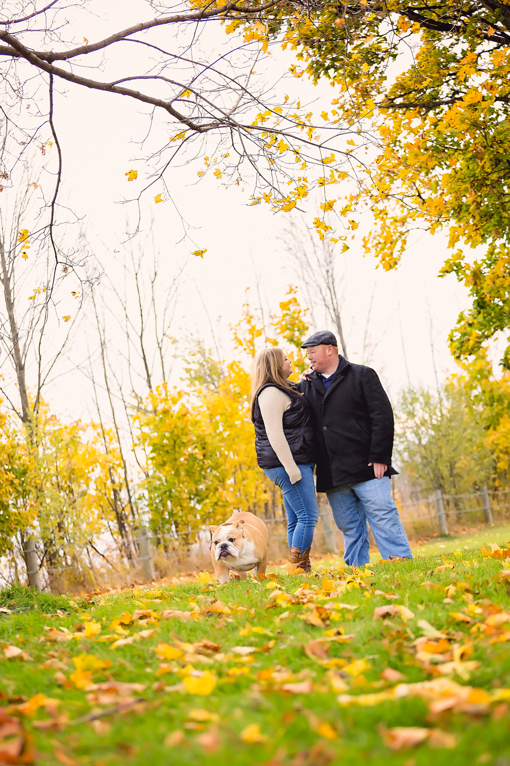 fall engagement Scarborough Bluffs Toronto Engagement Photographer