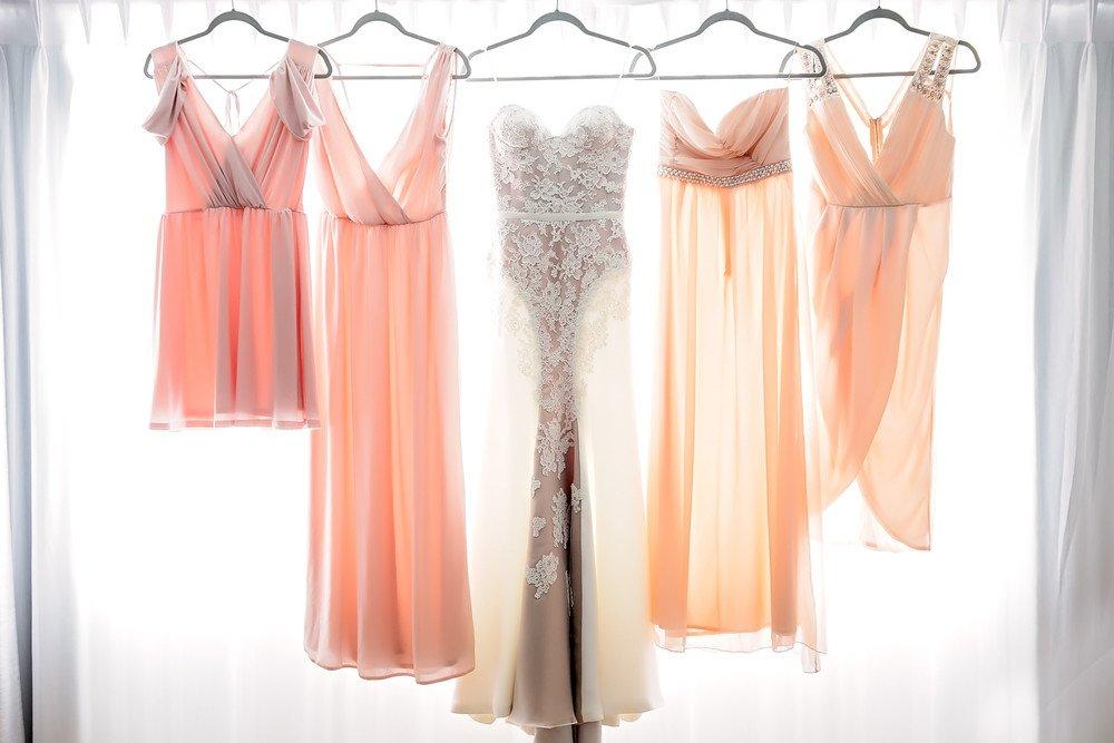 Wedding and Bridesmaids dress - Atlantis Pavilions Wedding