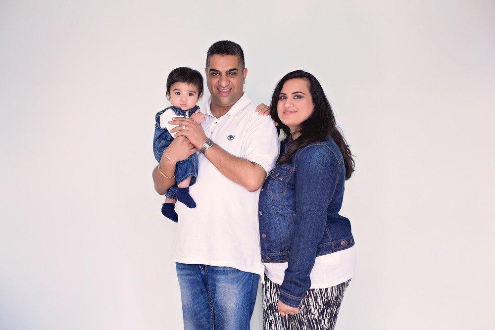 Tamanna, Rishi & Narun:  Hangin' with the Sharma's