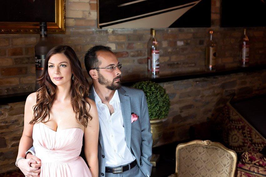 Pravda Vodka House Toronto Engagement Toronto Engagement shoot