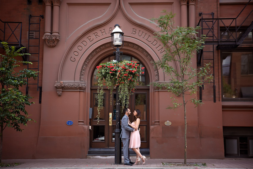 Sarah & Dean: Pravda Vodka House and Gooderham Building Engagement Photographer