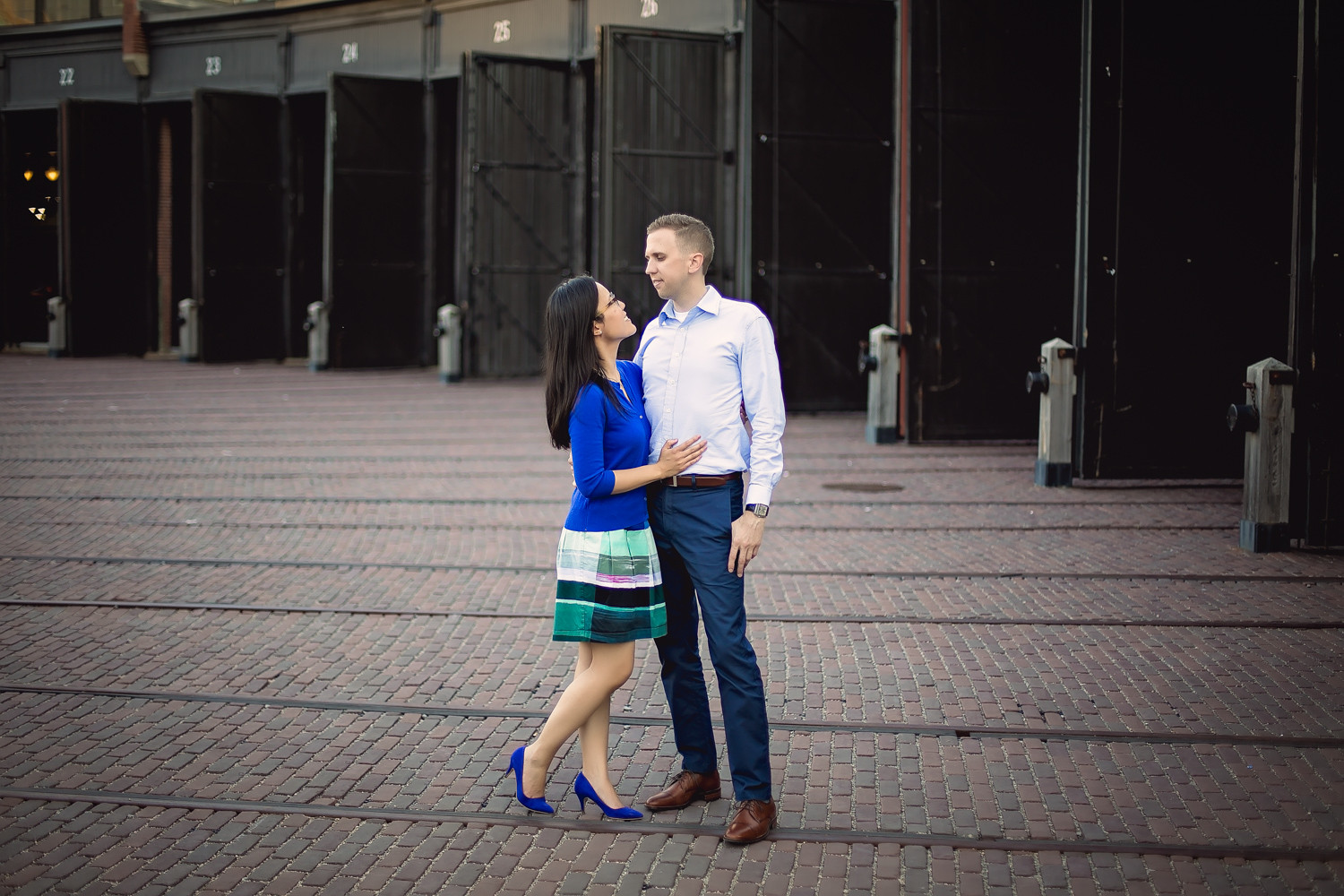 Kelly & Chris: Roundhouse Park Engagement Toronto Photographer