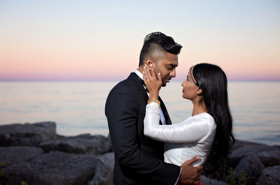 Narmi & Rajeev: Anniversary Shoot at Scarborough Bluffs