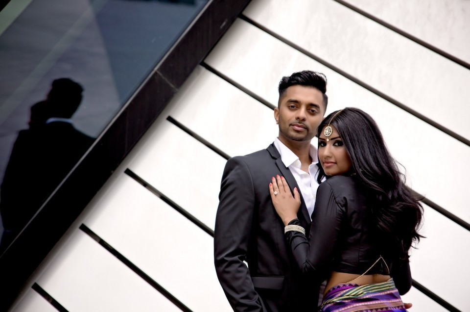 Narmi and Rajeev: Bloor-Yorkville Engagement