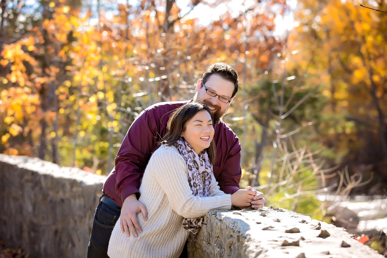 009 - Niagara County - Ontario - Stephanie & Branden- Balls Falls - Niagara Region Engagement