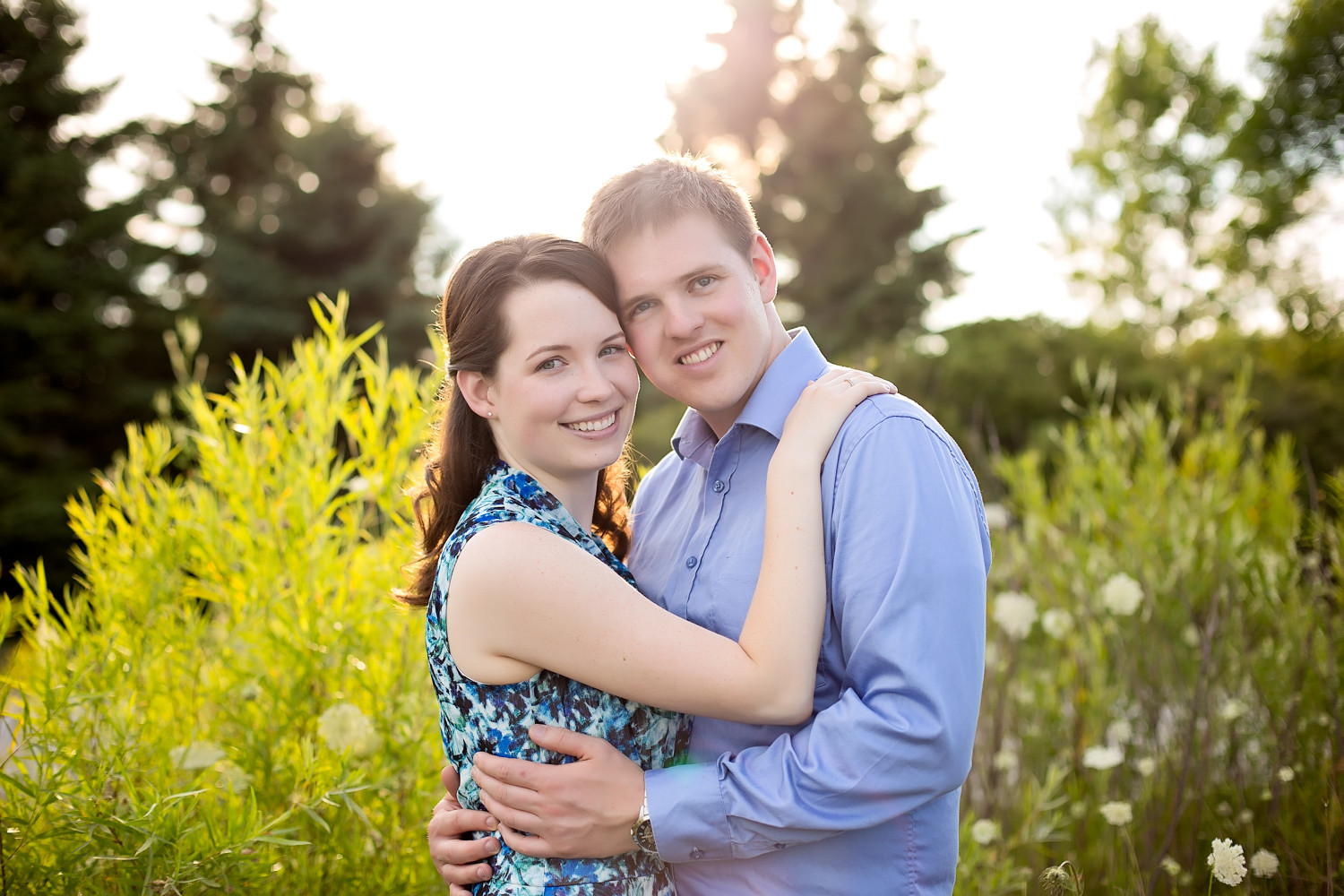 Michelle & John: Colonel Samuel Smith Park Toronto Engagement Photographer