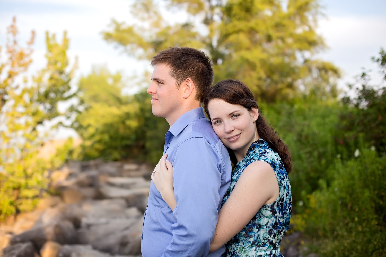 015 - Toronto - Ontario - Michelle & John- Colonel Samuel Smith Park Engagement