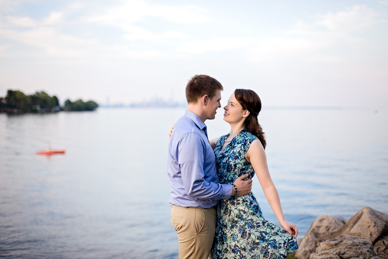 017 - Toronto - Ontario - Michelle & John- Colonel Samuel Smith Park Engagement