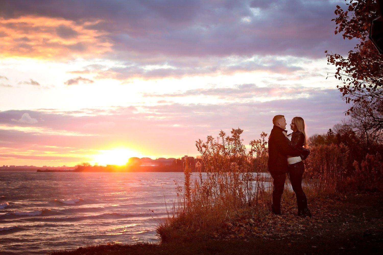 Ajax Ontario Vanessa Randy Rotary Park engagement photos toronto wedding photographer