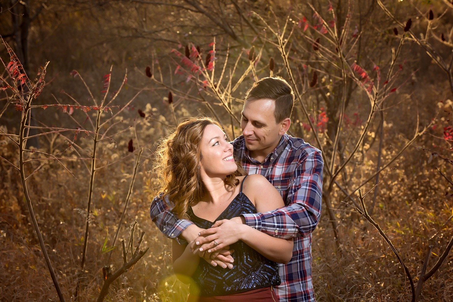Celina & Michael: Sunset Engagement at Scarborough Bluffs Toronto Engagement Photographer