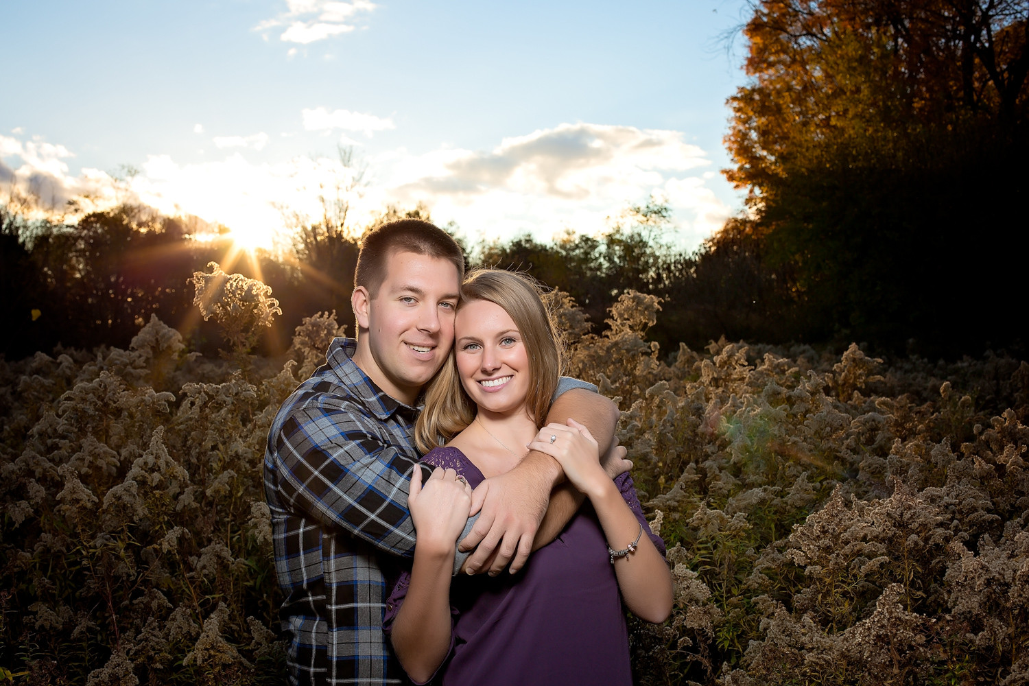 Emma & Blair | Spring Valley Trail Engagement | Ancaster
