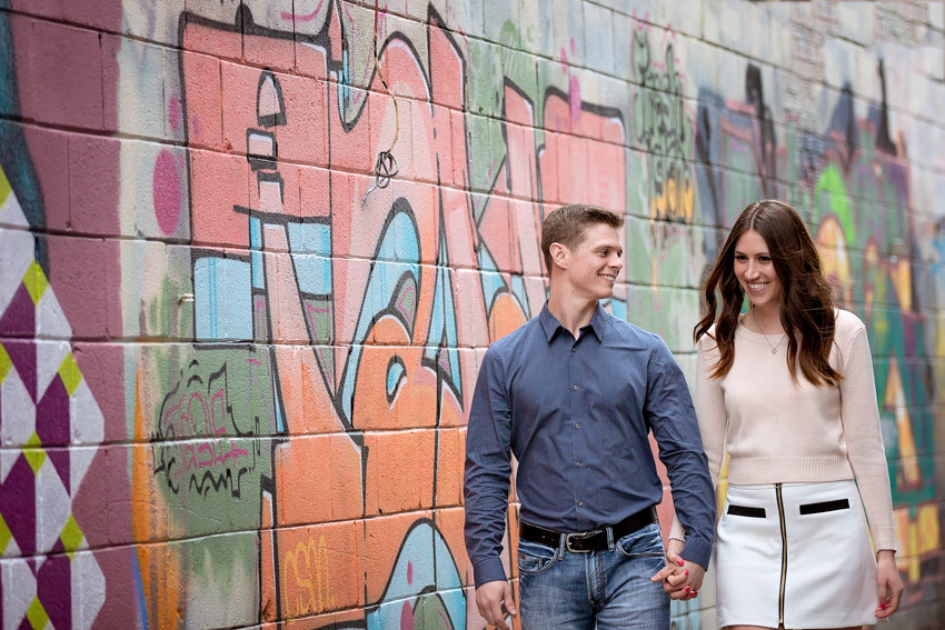 Mark & Samantha: Kensington Market Engagement